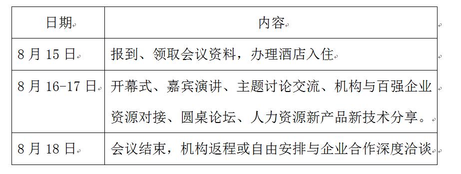 中国五金产业人力资源高峰论坛邀请函